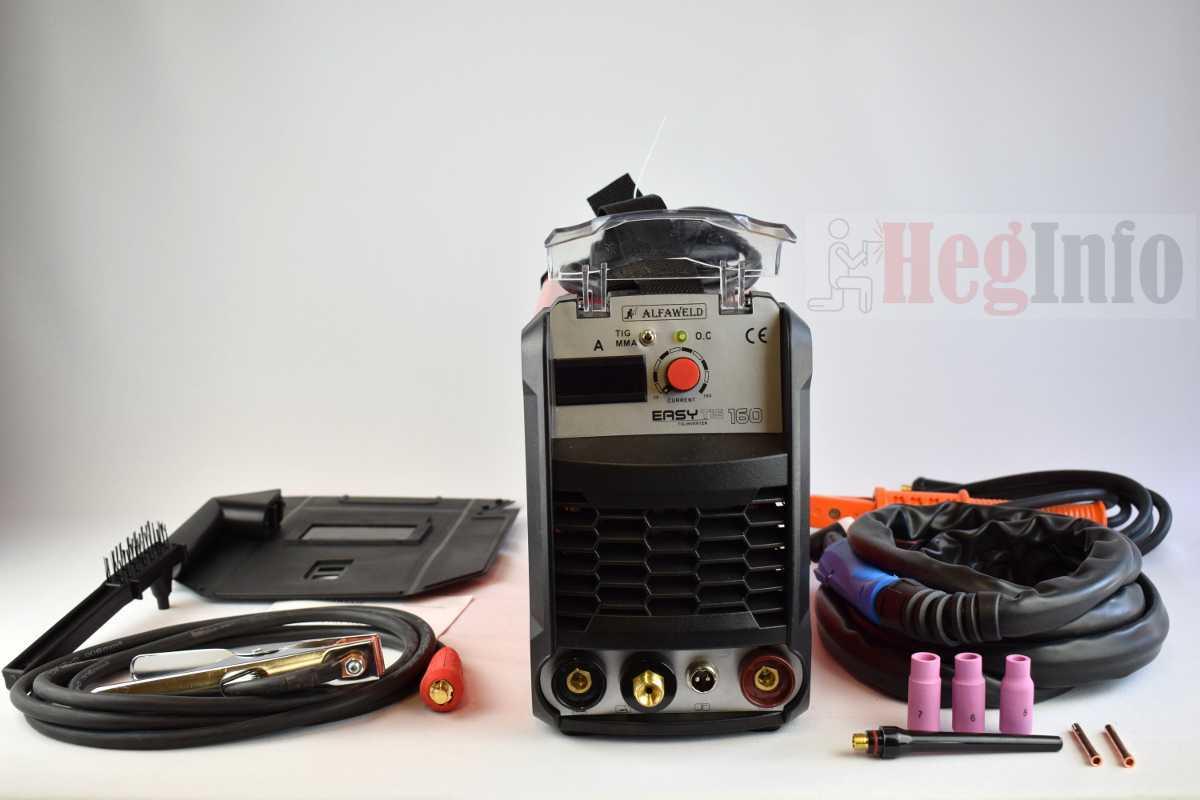 Alfaweld Easy TIG 160 – AWI / MMA inverteres hegesztőgép bemutatása