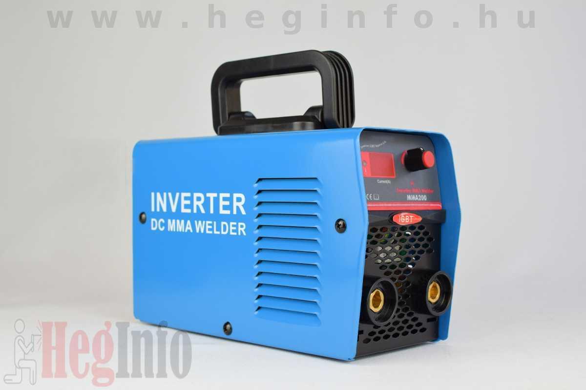 Techno 200A MMA IGBT DC inverteres hegesztőgép