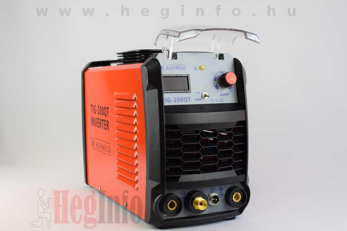 Alfaweld TIG-200QT inverteres AWI DC hegesztőgép