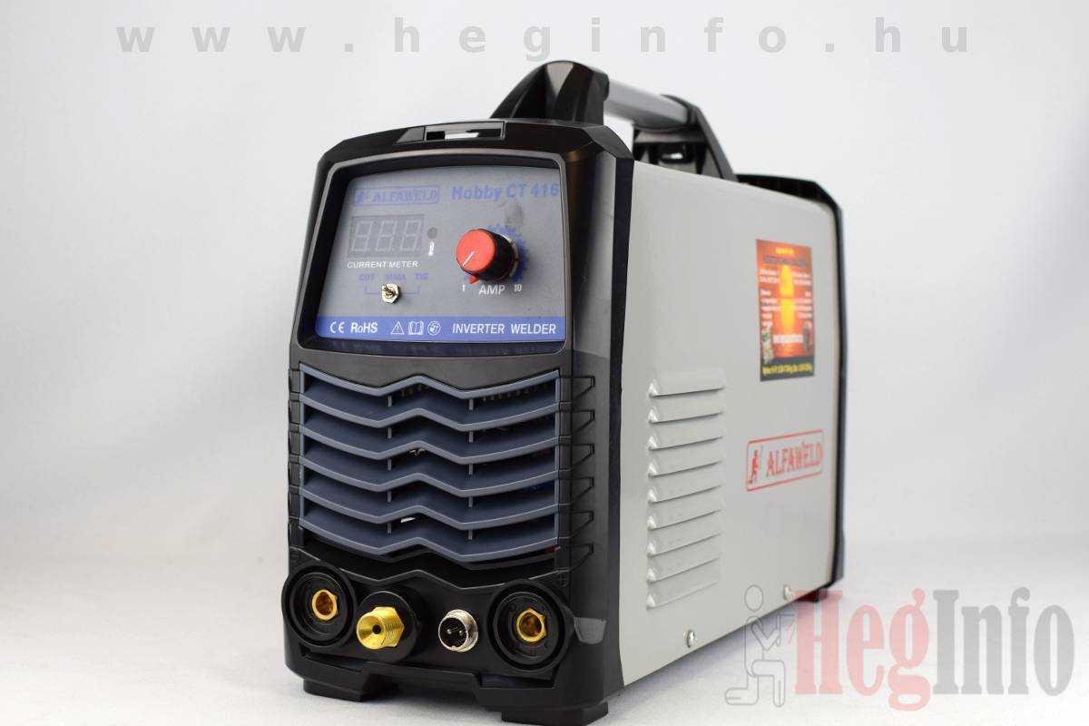 Alfaweld Hobby CT 416 DC inverteres hegesztőgép