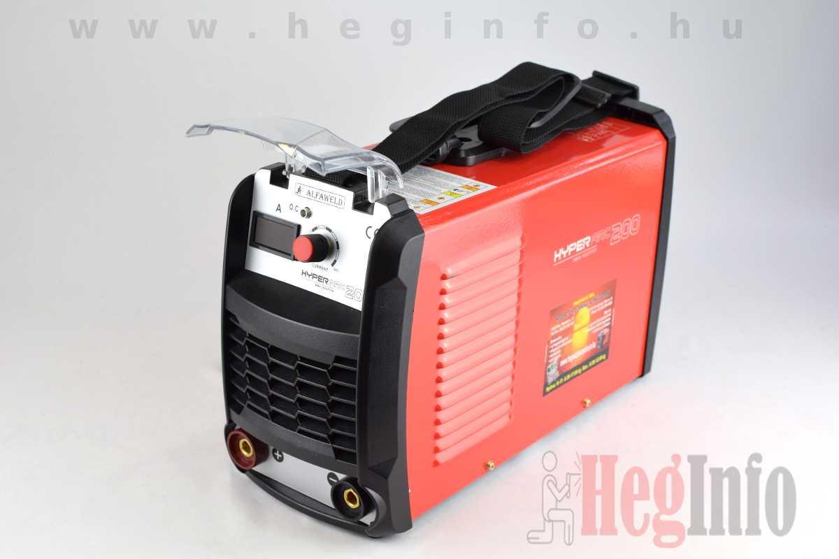 Alfaweld HyperARC 200 MMA inverteres hegesztőgép