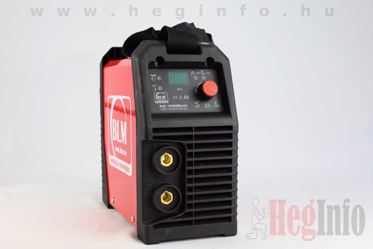 BLM-1650DM SMART bevontelektródás inverteres hegesztőgép