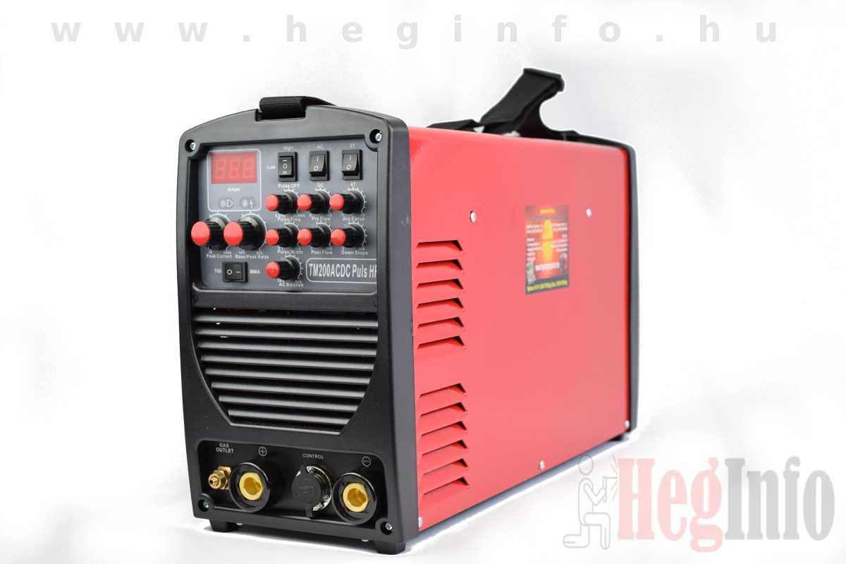 Alfaweld TM-200 Pulse inverteres AWI AC/DC hegesztőgép