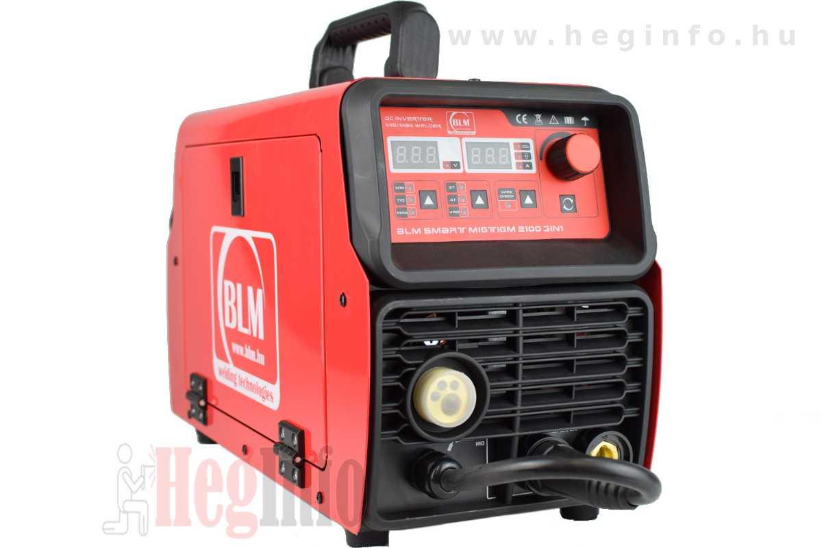 BLM SMART MIGTIGMMA 2100 3IN1 inverteres hegesztőgép