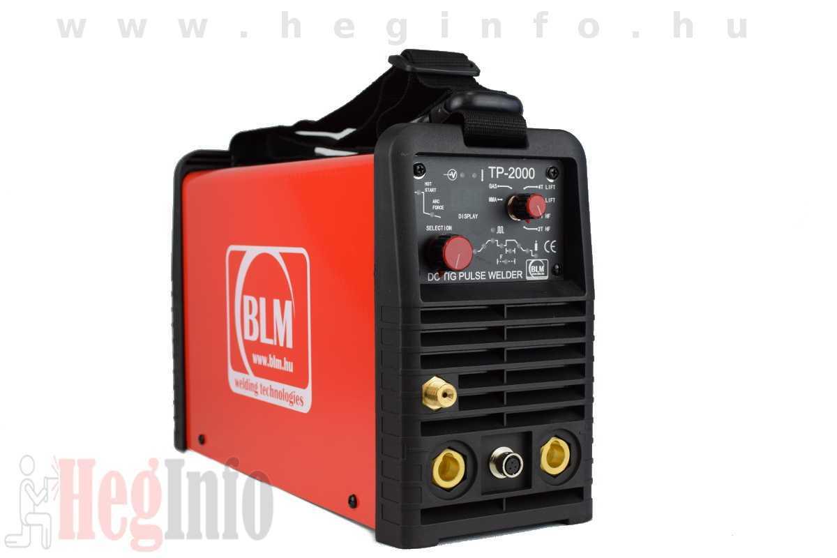 BLM TP-2000 HF TIG DC inverteres hegesztőgép