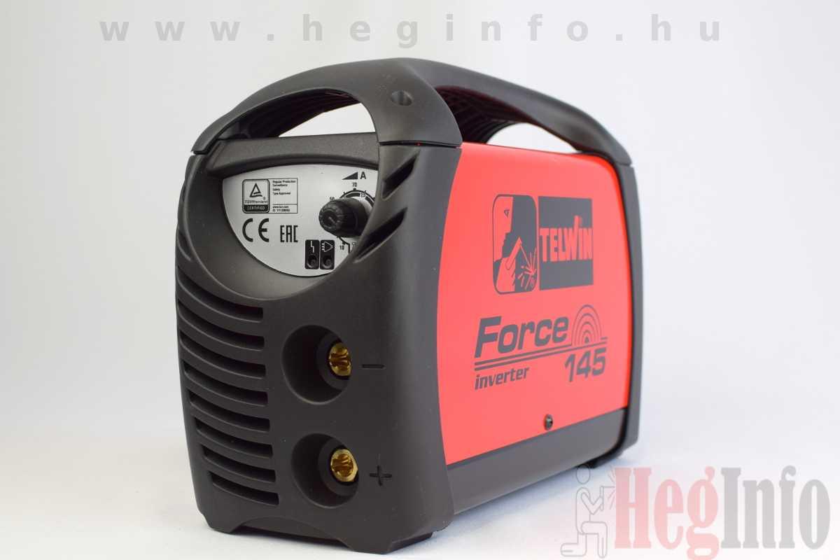 Telwin Force 145 inverteres MMA hegesztőgép