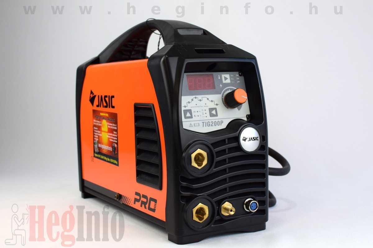 JASIC TIG-200 P (W212) DC AWI hegesztő inverter