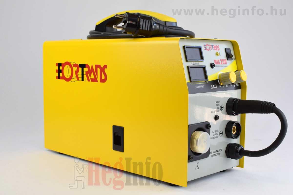 Fortrans MIG 200 hegesztő inverter