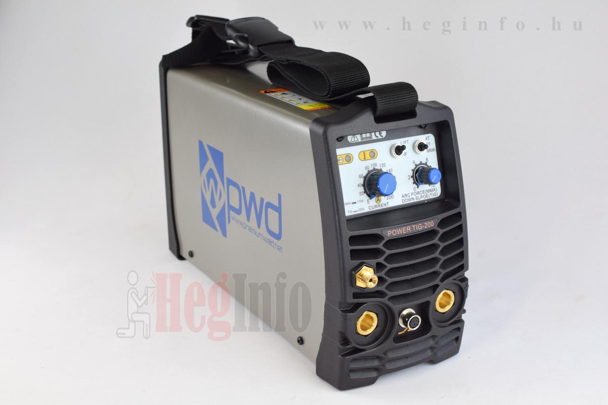Premiumweld Power Tig 200 inverteres HF AWI DC hegesztőgép