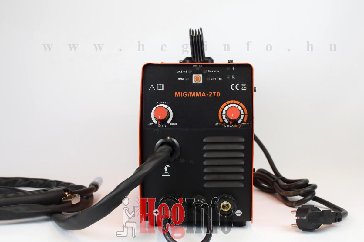 Haina MIG/MMA 270 mini inverteres kombi hegesztőgép