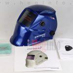Parweld XR938H/BL automata hegesztő fejpajzs kék metál True Color hegesztőpajzs hegesztés