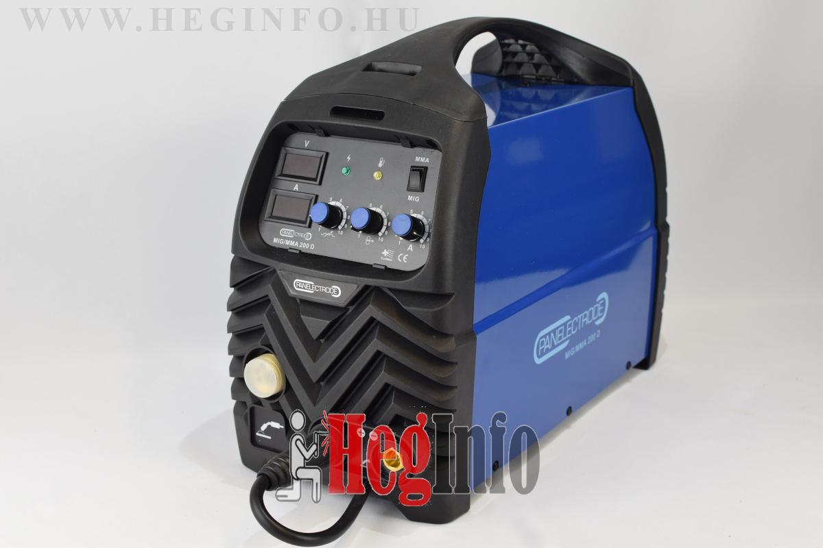Panelectrode MIG/MMA 200 D inverteres hegesztőgép
