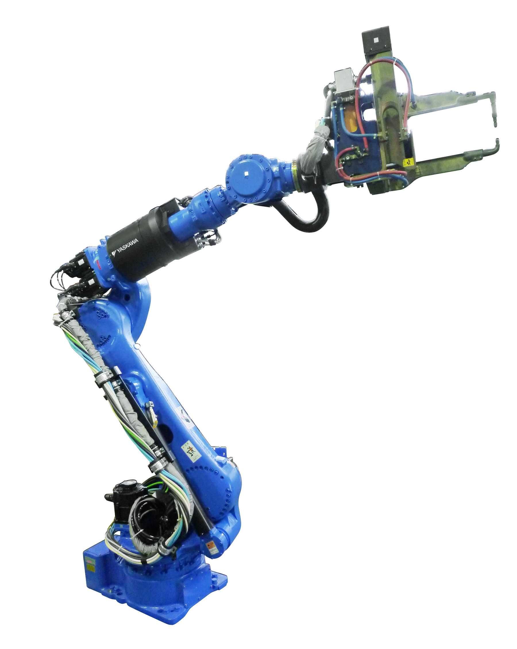 ponthegesztő robot