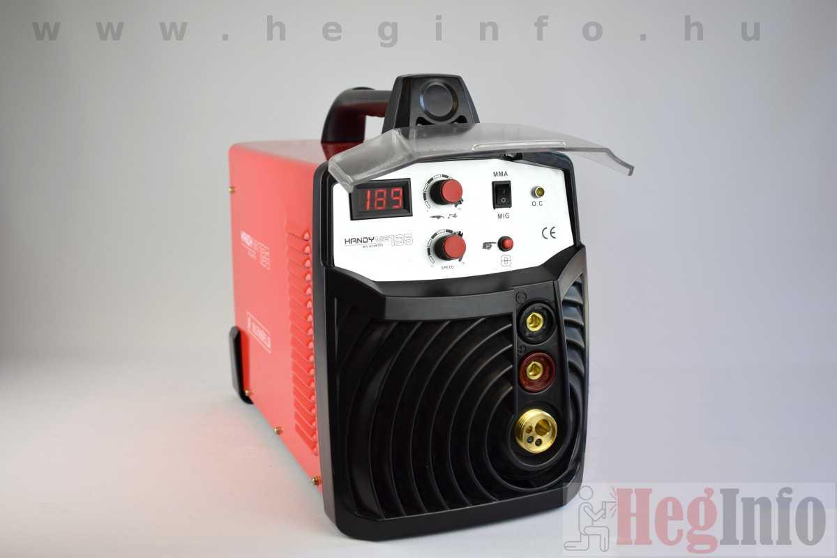 Alfaweld HandyMIG 185 inverteres CO hegesztőgép