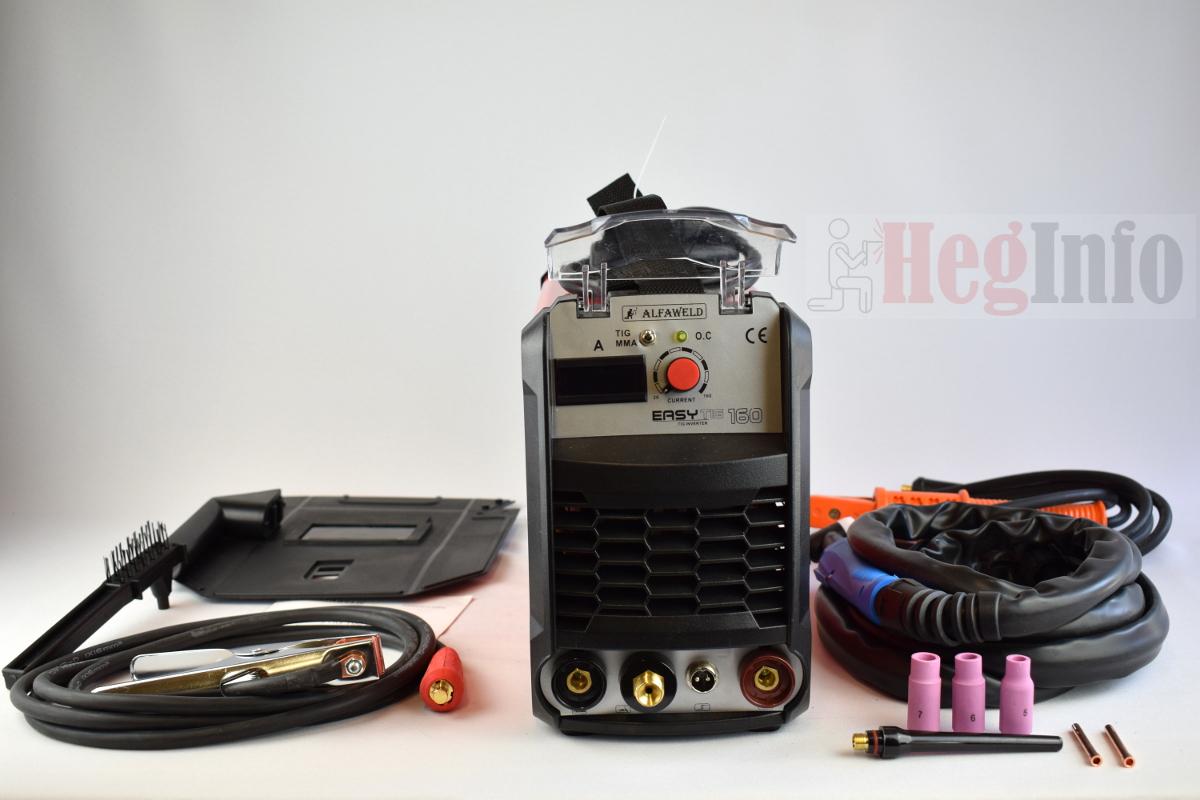 Alfaweld Easy TIG 160 – AWI / MMA inverteres hegesztőgép