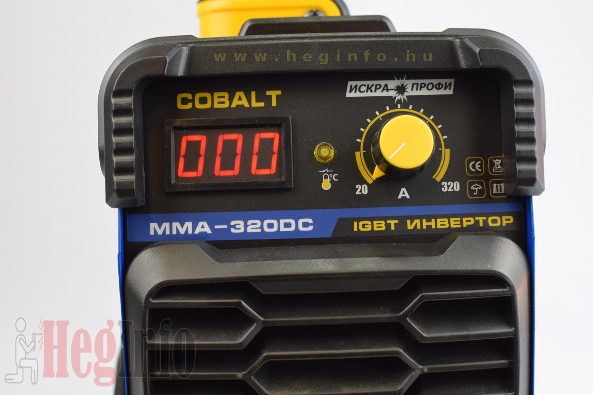 Cobalt MMA 320-DC inverteres hegesztőgép