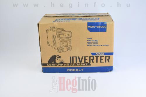 cobalt mma 320dc inverteres hegesztogep heginfo hegesztestechnika
