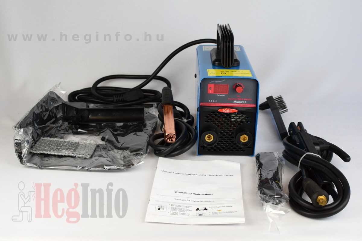 Techno 200A MMA inverter