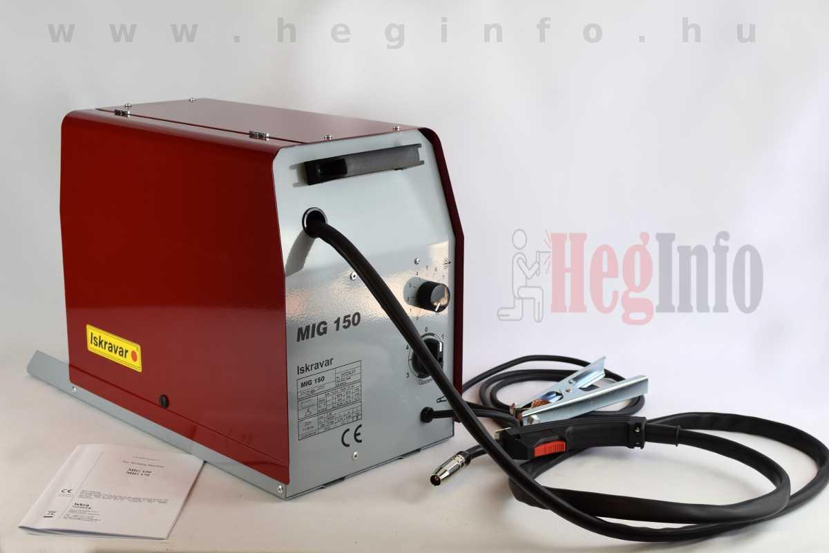 Iskravar MIG 150 trafós hegesztőgép