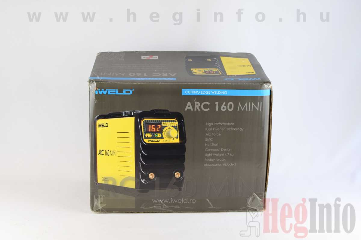 iweld arc 160 mini mma hegeszto inverter