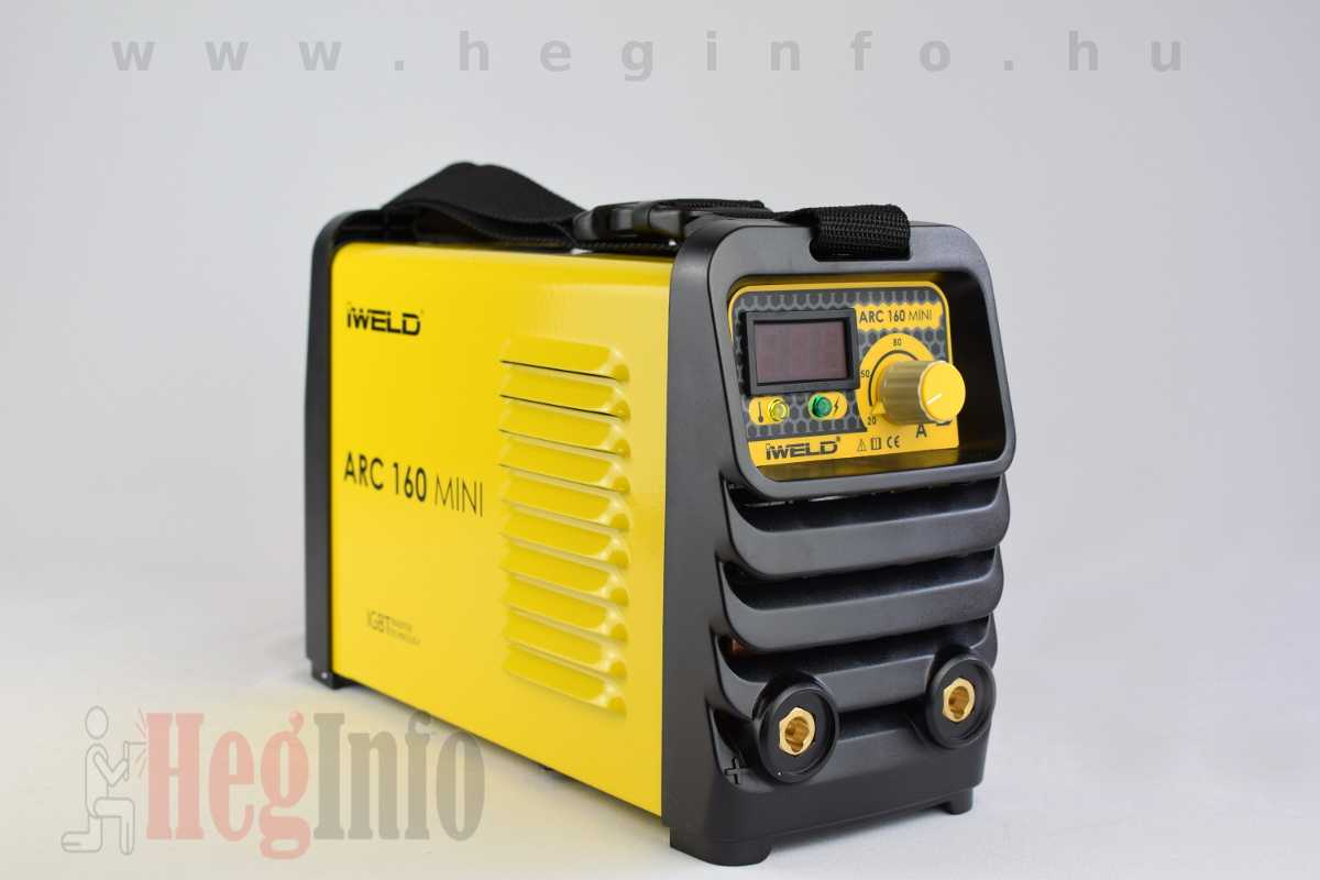 iweld arc 160 mini mma hegeszto inverter 8