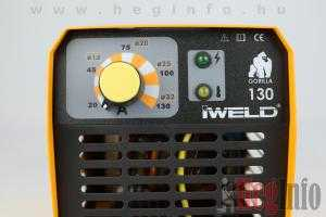 iweld gorilla pocketpower 130 hegeszto inverter heginfo.hu