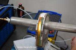 Orbitális hegesztés Orbitalum Orbiweld 76S hegesztőgéppel heginfo hegesztéstechnika 3