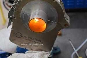 Orbitális hegesztés Orbitalum Orbiweld 76S hegesztőgéppel heginfo hegesztéstechnika 15
