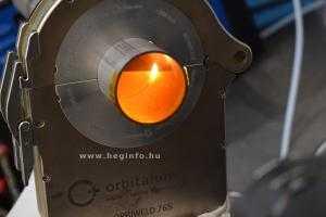 Orbitális hegesztés Orbitalum Orbiweld 76S hegesztőgéppel heginfo hegesztéstechnika 18