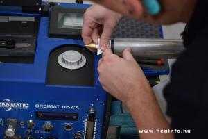 Orbitális hegesztés Orbitalum Orbiweld 76S hegesztőgéppel heginfo hegesztéstechnika 25