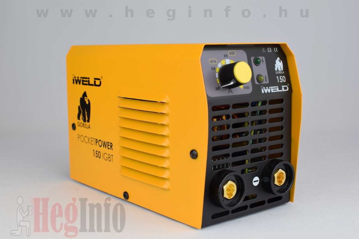 Iweld Gorilla Pocketpower 150 hegesztő inverter