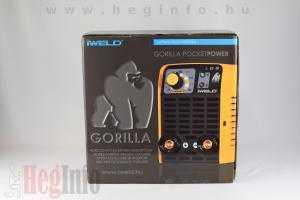 iweld gorilla pocketpower 190 hegesztő inverter heginfo hegesztéstechnika hegesztőgép