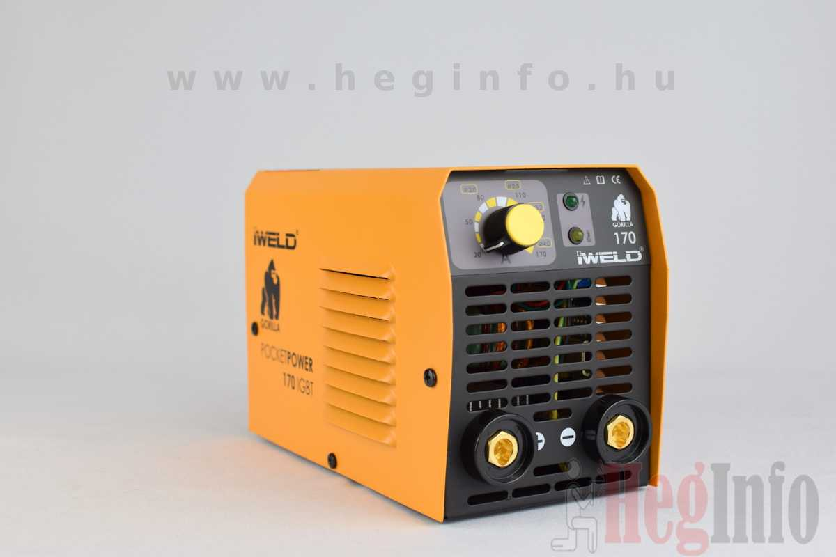 Iweld Gorilla Pocketpower 170 hegesztő inverter