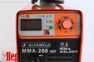 alfaweld mma 200 hegesztő inverter hegesztőgép heginfo hegesztéstechnika 1