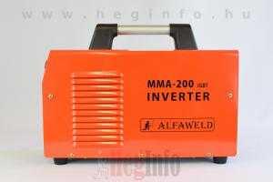 alfaweld mma 200 hegesztő inverter hegesztőgép heginfo hegesztéstechnika 4