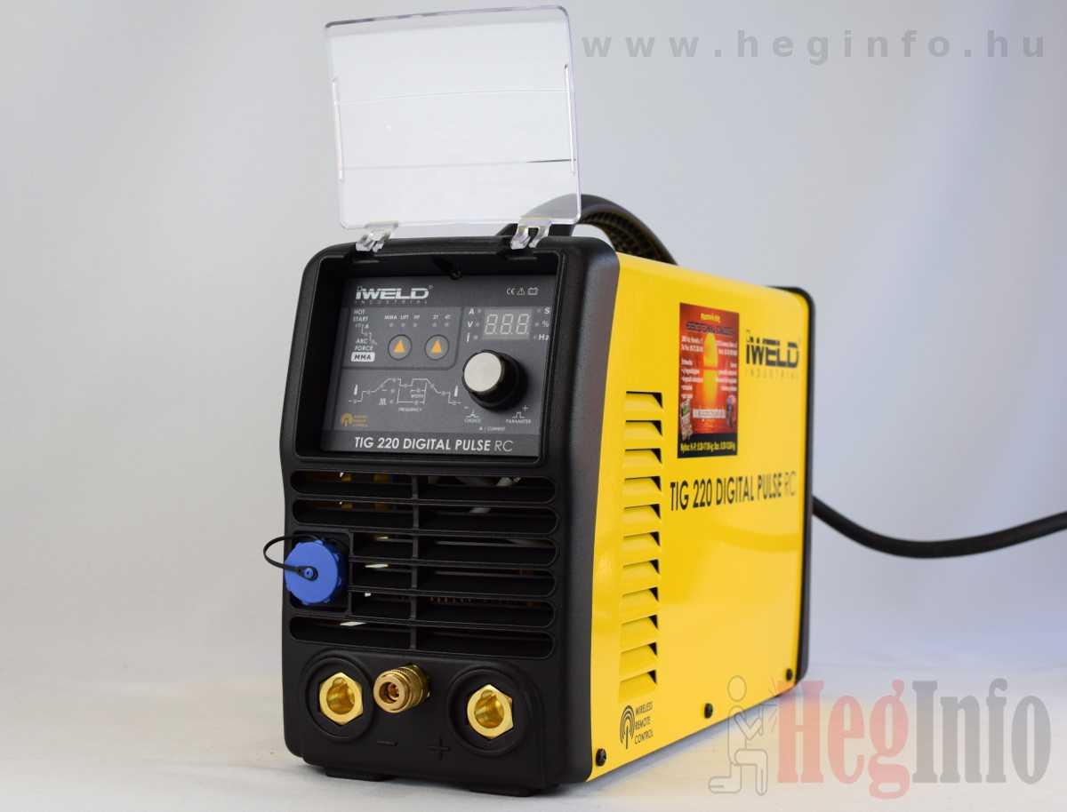 iweld tig 220 digital pulse rc hegeszto inverter heginfo hegesztestechnika 4