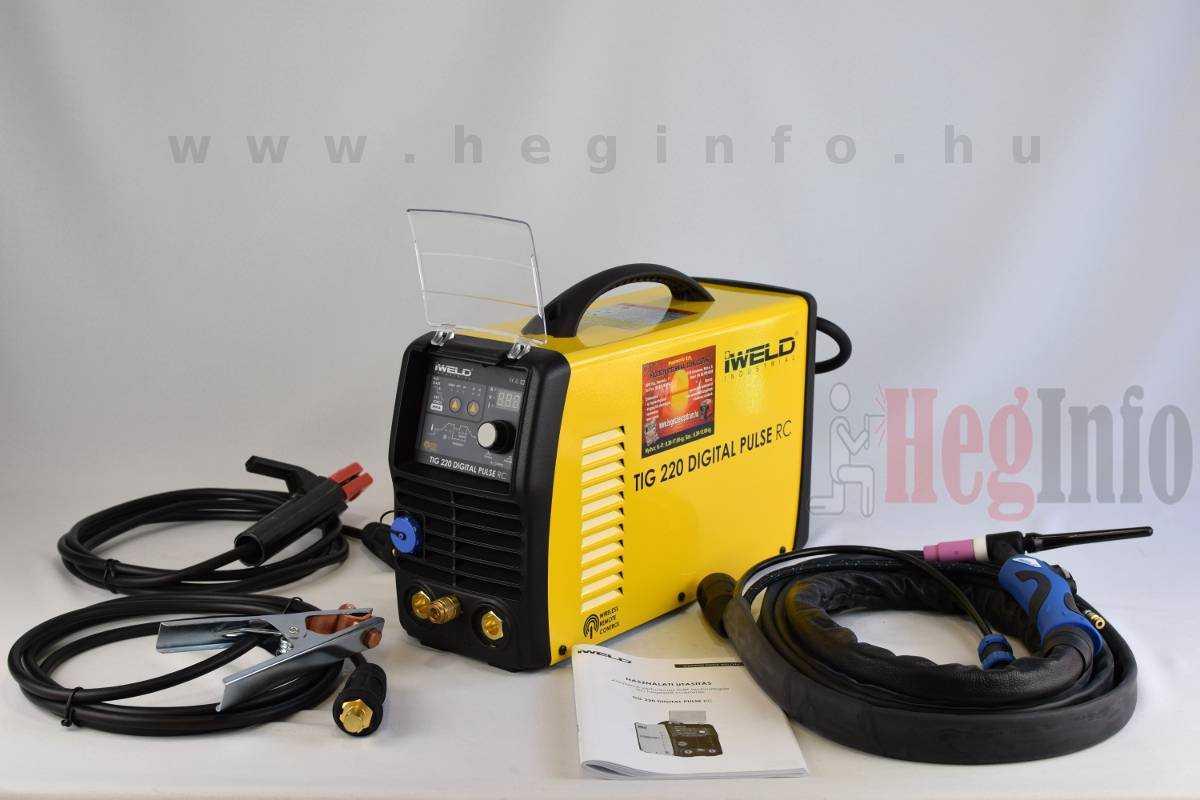 iweld tig 220 digital pulse rc hegeszto inverter heginfo hegesztestechnika