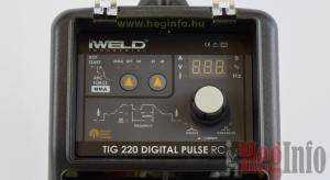 iweld tig 220 digital pulse rc hegeszto inverter heginfo hegesztestechnika 9