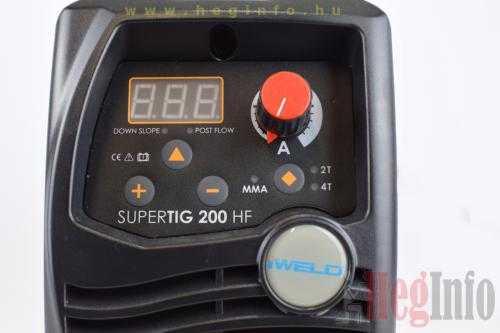 iweld gorilla supertig 200 hf inverter 8 hegesztogep heginfo hegesztestechnika
