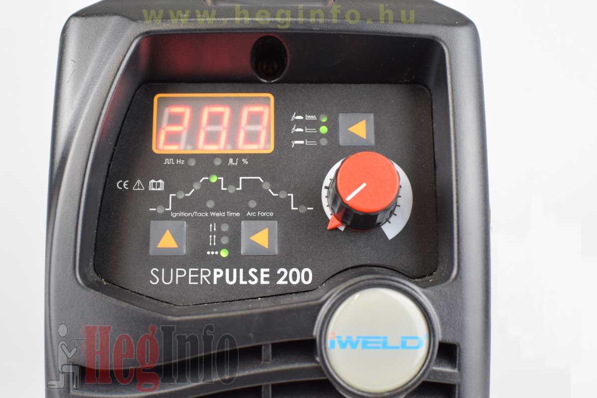 iweld gorilla superpulse 200 inverter 8 hegesztogep heginfo hegesztestechnika