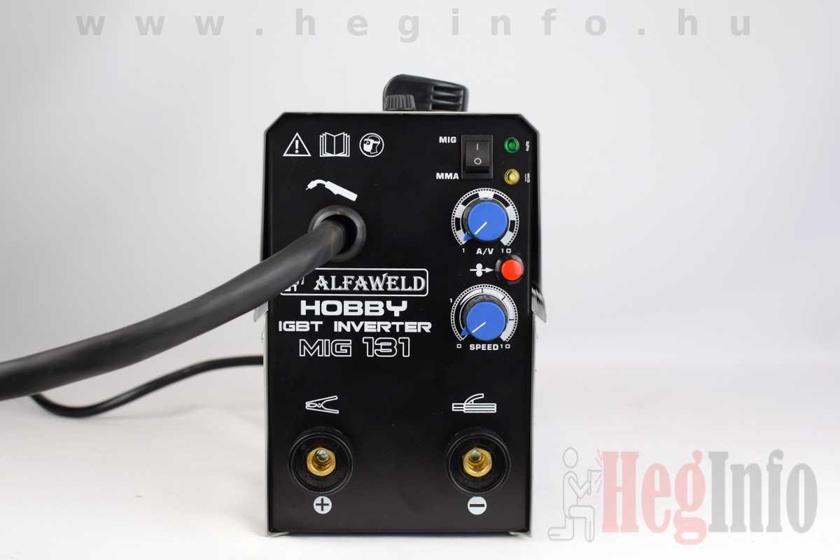 Alfaweld Hobby MIG-MMA 131 inverteres porbeles hegesztőgép