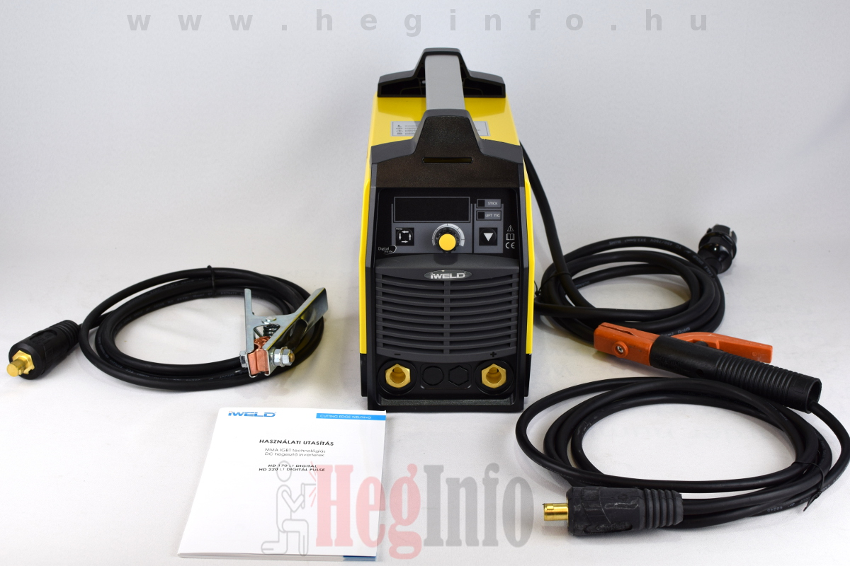 iweld hd220 lt digital hegeszto inverter