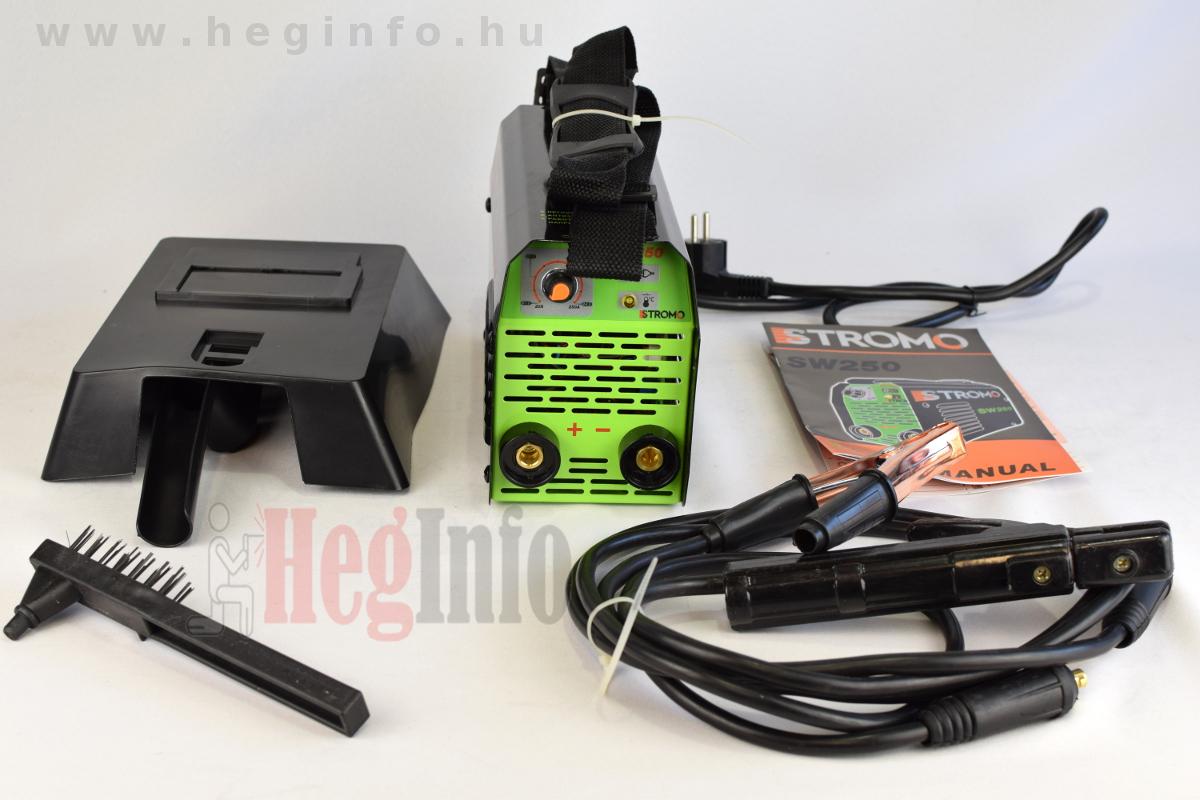 Stromo SW 250 inverteres hegesztőgép