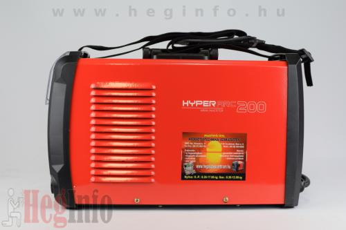 alfawel hyperarc200 mma inverteres hegesztogep heginfo hegesztestechnika