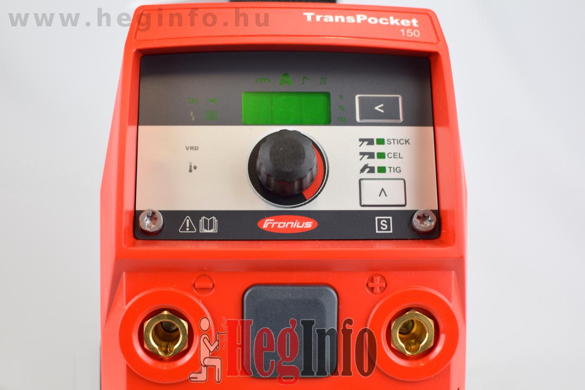Fronius TransPocket 150 inverteres hegesztőgép