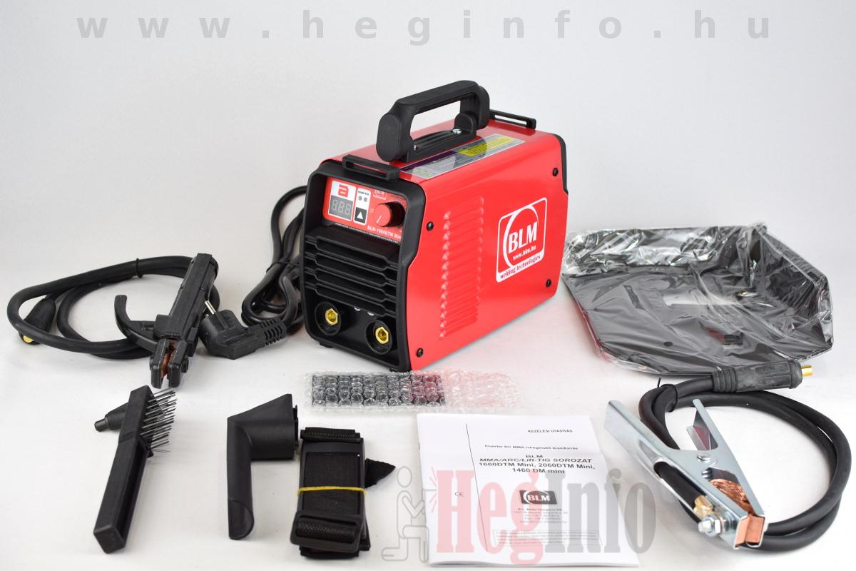 BLM-1660DTM Mini inverteres hegesztőgép