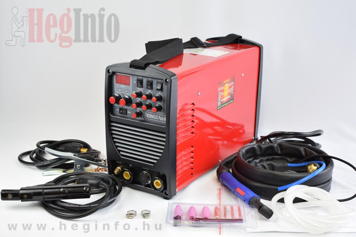 Alfaweld TM-200 Pulse inverteres hegesztőgép