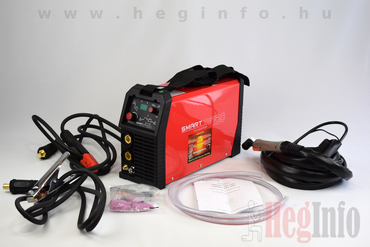 Alfaweld SmartTig 160 inverteres Awi DC hegesztőgép