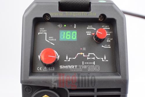 Alfaweld SmartTig 160 digitális inverteres AWI DC hegesztőgép 8