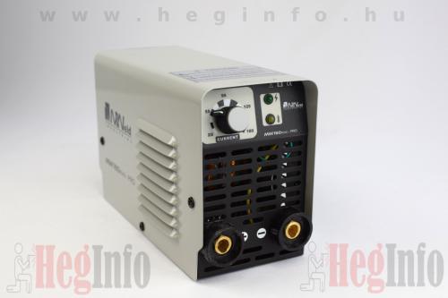 mweld mini pro 160 mma inverteres hegesztőgép heginfo hegesztéstechnika 3